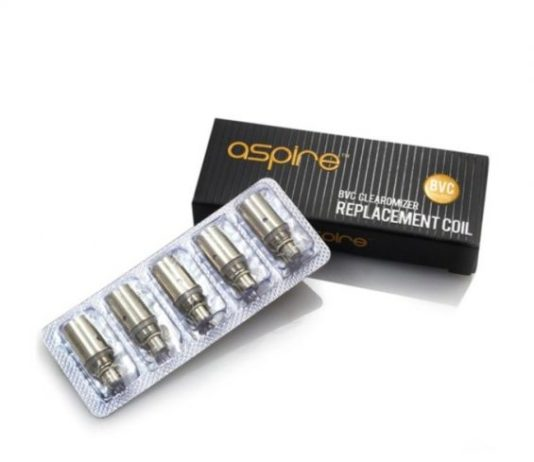 Aspire BVC Clearomizer Replacement Coils Review