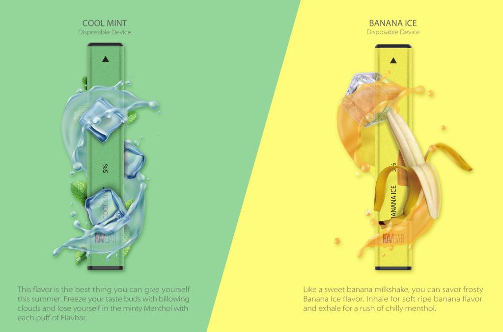 Cool Mint Flavbar V1 Disposable Pod Device by FLAVBAR Review
