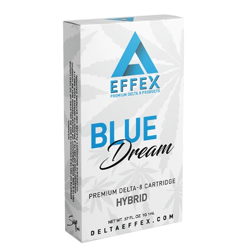Blue Dream Delta 8 THC Cartridge by Delta Effex Review